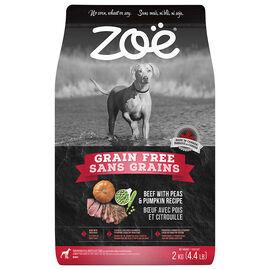 Zoe Super Bars Grain Free Dog Food - Beef with Peas & Pumpkin - 2kg