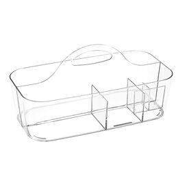 InterDesign Clarity Bath Tote - Clear