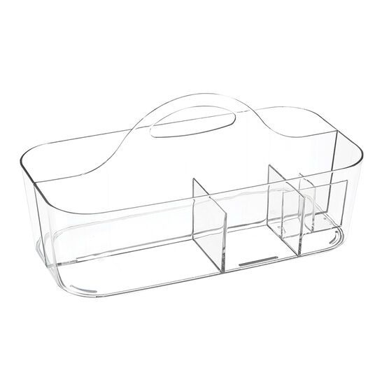 InterDesign Clarity Bath Tote - Clear