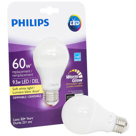 Philips Real LED Bulb A19 - Soft White - 11w=60w