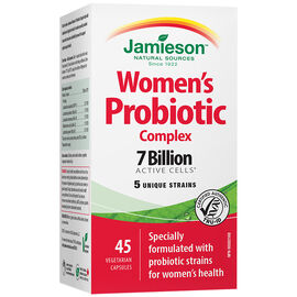 Jamieson Women's Probiotic Complex - 7 Billion Active Cells - 30's