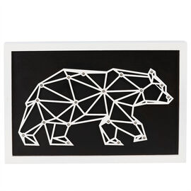 London Drugs LED Wall Décor Frame - Bear - 30 x 20 x 4cm