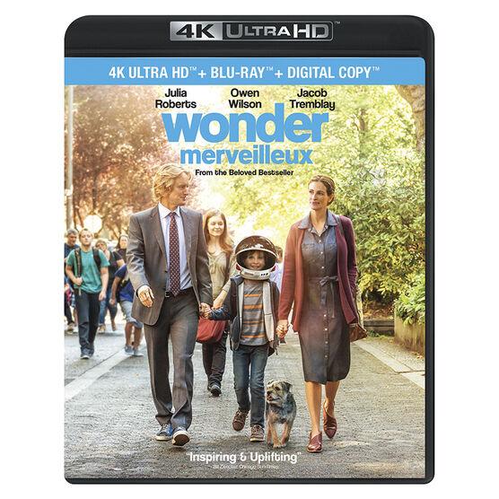 Wonder - 4K UHD Blu-ray