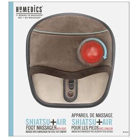 Homedics Shiatsu+Air Foot Massagerwith Heat - FMS-275HA-C