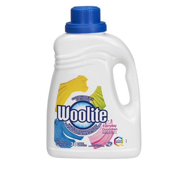Woolite Zero Gentle Fabric Wash Liquid Detergent - 1.8L - 30 loads