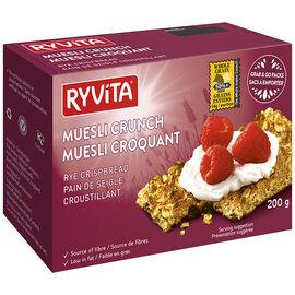 Ryvita Crispbread - Muesli Crunch - 200g