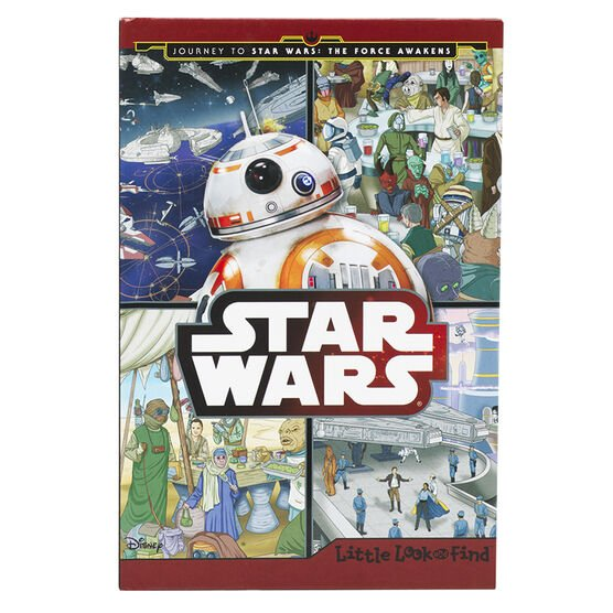 Star Wars Little Look & Find Book