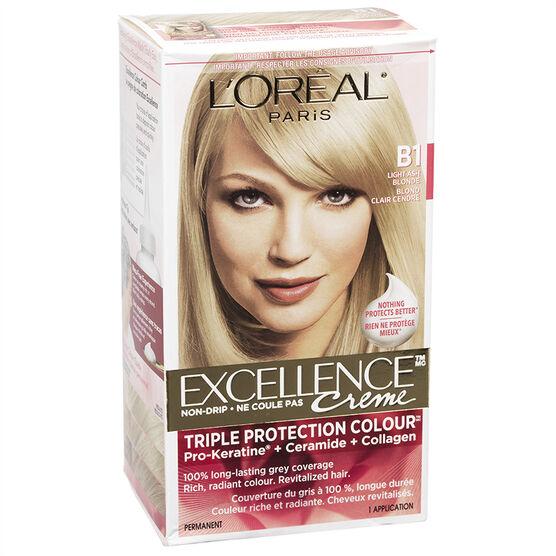 L Oreal Excellence Creme B1 Light Ash Blonde London Drugs