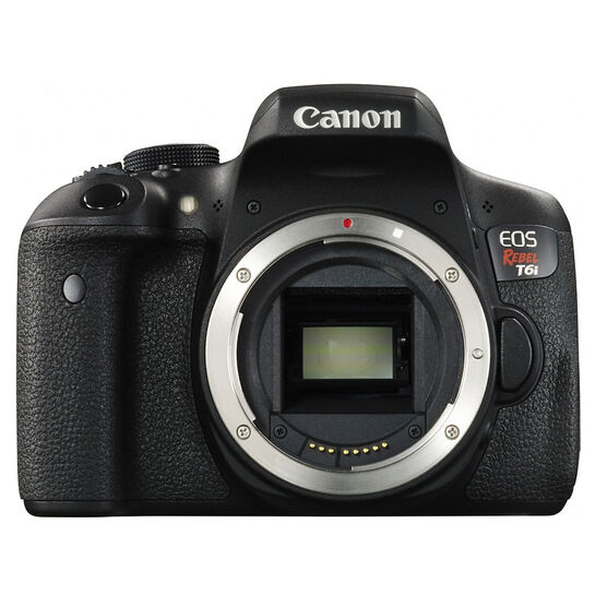 Canon Rebel T6i Body - Black - 0591C002