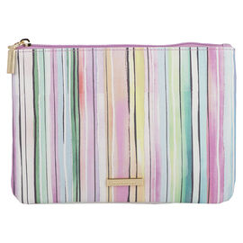 Sophia Joy Small Stripe Flat Clutch - A013884LDC