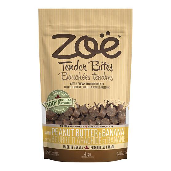Zoe Tender Bites Dog Treats - Peanut Butter Banana - 150g