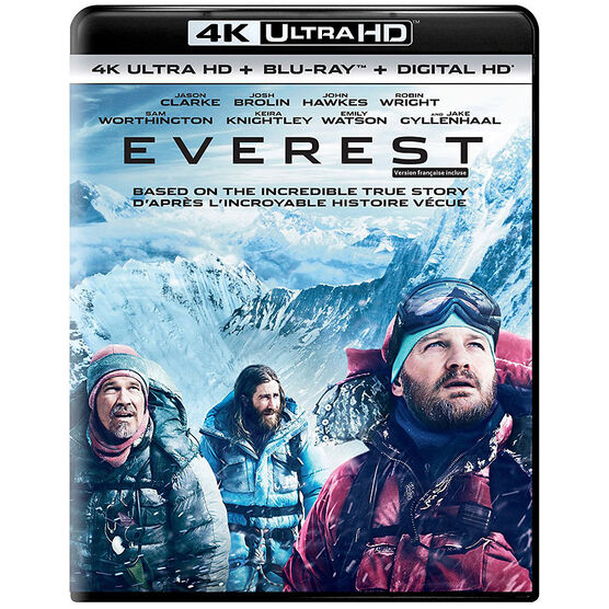 Everest - 4K UHD Blu-ray