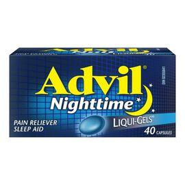 Advil Nighttime Liqui-Gels - 40's