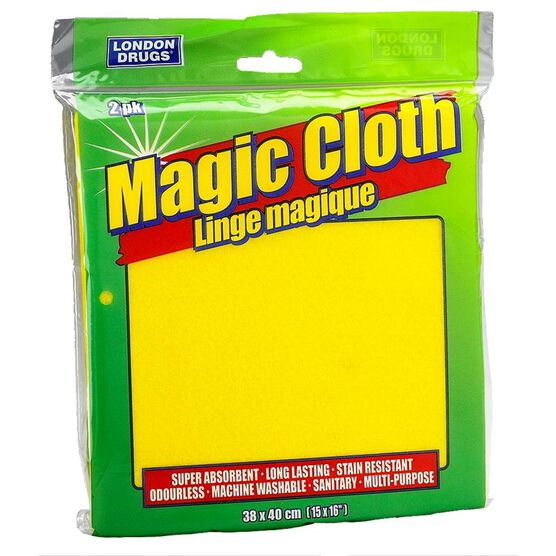 London Drugs Super Absorbent Magic Cloth - 2 pack