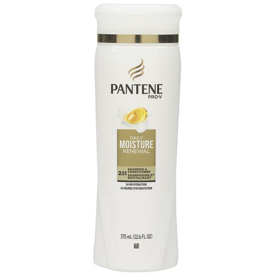 Pantene 2-in-1 Daily Moisture Renewal Shampoo & Conditioner - 375ml