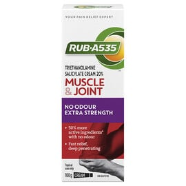 RUB A535 Ultra Strength No Odour Cream - 100g
