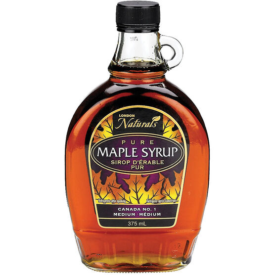 London Drugs Pure Maple Syrup No.1 Medium - 375ml
