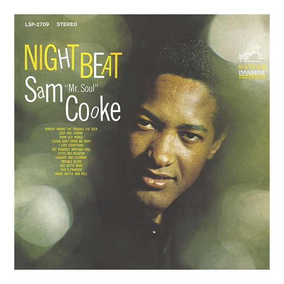 Sam Cooke - Night Beat - 180g Vinyl