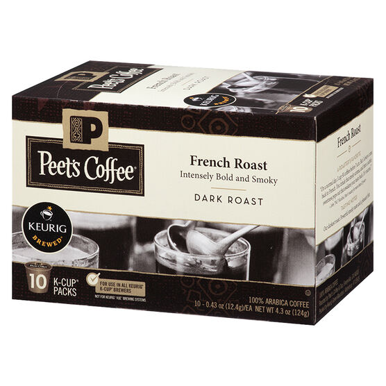 Peet's Coffee Pods - French Roast  - 10 servings