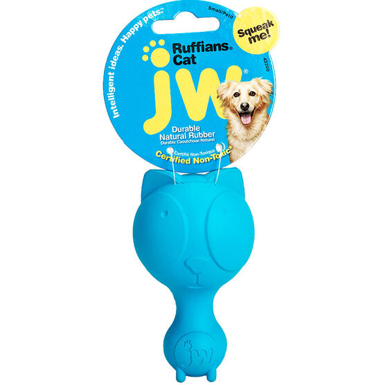 Ruffians Dog Toy - Cat Shape