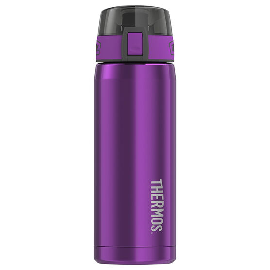 Thermos Stainless Steel Hydration Bottle - Aubergine - 530ml