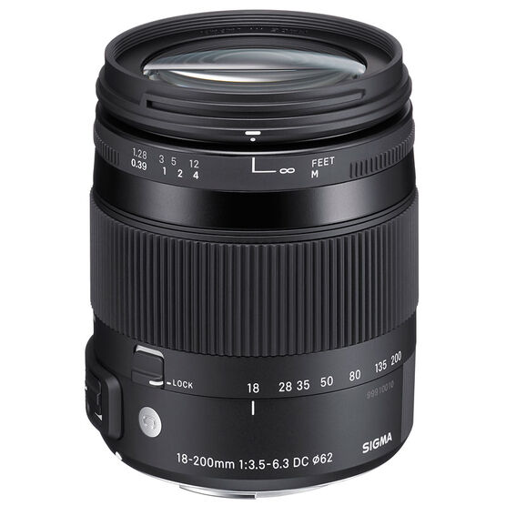 Sigma Contemporary 18-200mm F3.5-6.3 DC OS HSM Lens For Nikon - COS18200N