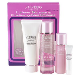 Shiseido White Lucent Luminous Skin Starter Kit - 4 piece