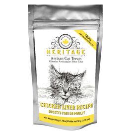 Heritage Artisan Cat Treats - Chicken Liver - 50g