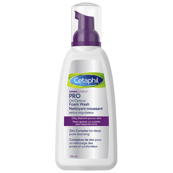 Cetaphil Dermacontrol Oil Control Foam Wash - 236ml