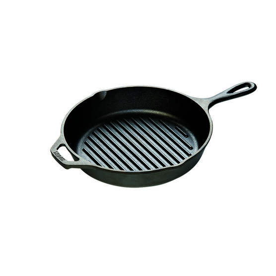 Lodge Logic Round Grill Pan - 10.25in