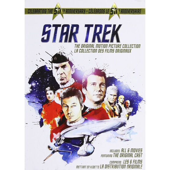 Star Trek: The Original Series Motion Picture Collection - DVD