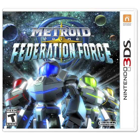 3DS Metroid Prime Federation Force