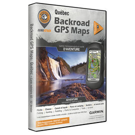 Backroad GPS Maps - Quebec - 00952