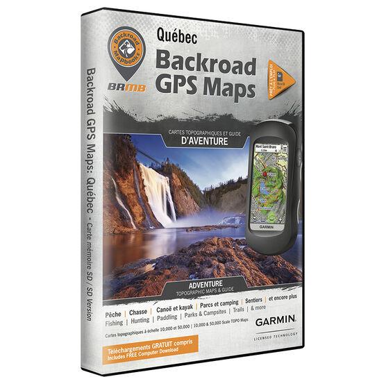 Backroad GPS Maps - Quebec - 00952