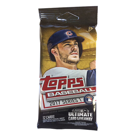 2017 MLB Series 1 Booster Pack
