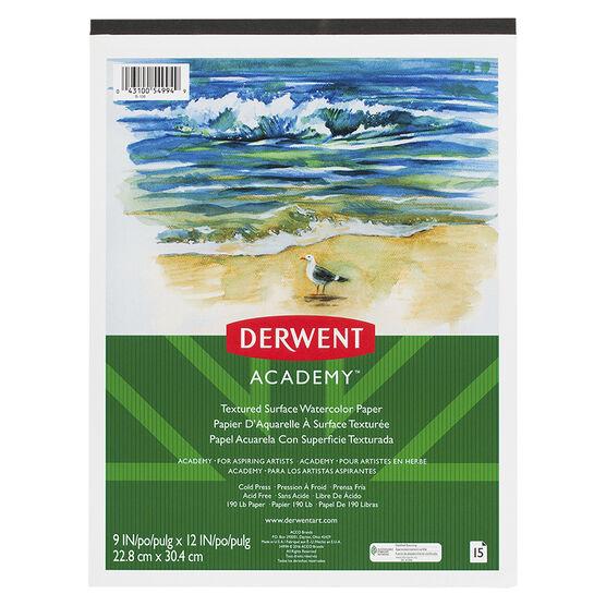 """Derwent Academy Watercolour Pad - 9x12"""""""