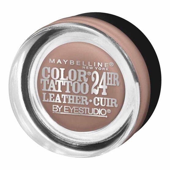 Maybelline Eye Studio Color Tattoo Leather 24Hr Cream Gel Eyeshadow - Creamy Beige