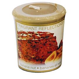 Fragrant Reflection Votive Candle - Banana Nut