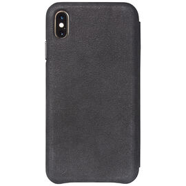 Decoded Slim Leather Wallet Case for iPhone Xs Max - Black - DCD8IPO65SW3BK
