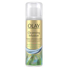 Olay Cleansing Infusion Facial Cleanser - Deep Sea Kelp & Aloe Extract - 150ml