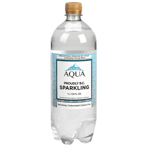 Naturo Aqua Sparkling Water - 1L
