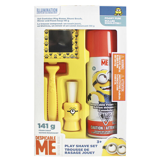 Despicable Me3 Play Shave Set