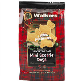 Walker's Scottie Dog Shortbread - 125g