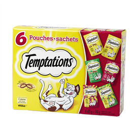 Whiskas Temptations Variety Pack - 510g