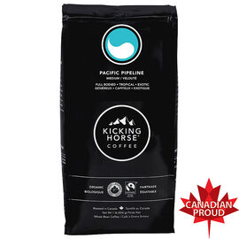 Kicking Horse Organic - Pacific Pipeline Medium Roast - Whole Bean - 454g