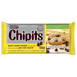 Hershey's Chipits Chocolate Chips - Pure Semi-Sweet - 300g