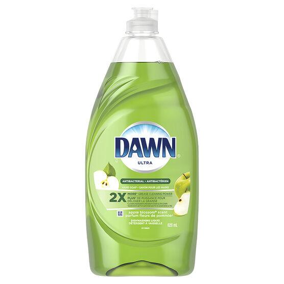 Dawn Antibacterial Dishwashing Liquid - Apple Blossom - 828ml