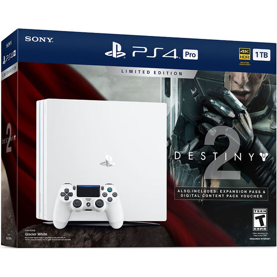Sony PlayStation PS4 Pro 1TB Hardware Bundle - Destiny 2: Limited Edition - CUH-7015B