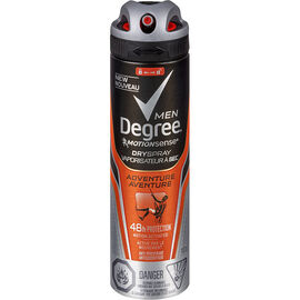 Degree Men Motion Sense Dry Spray Anti-Perspirant - Adventure - 107g