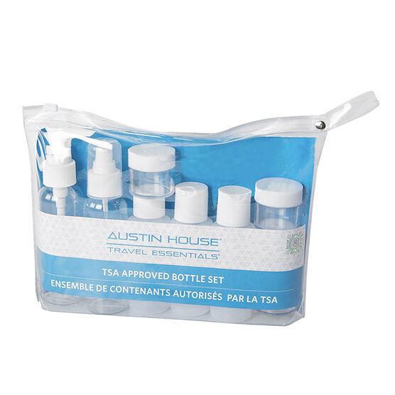 Austin House Travel Toiletry Set - 9 piece - AH33BS92